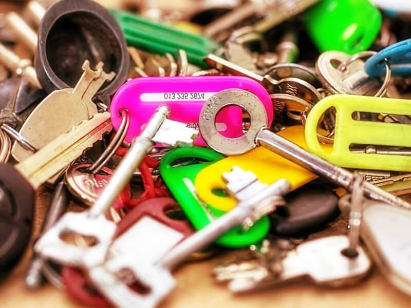 J'ai perdu mes clés : que faire en cas de perte de clés